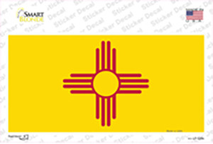 New Mexico State Flag Wholesale Novelty Sticker Decal