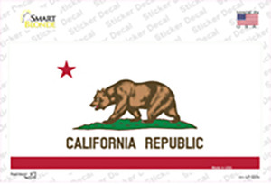 California State Flag Wholesale Novelty Sticker Decal