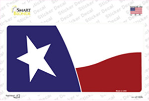 Texas State Flag Waving Wholesale Novelty Sticker Decal