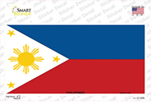 Philippines Flag Wholesale Novelty Sticker Decal