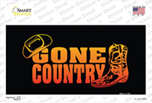 Gone Country Wholesale Novelty Sticker Decal