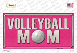Volleyball Mom Wholesale Novelty Sticker Decal