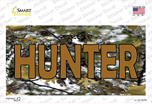Hunter Camouflage Wholesale Novelty Sticker Decal