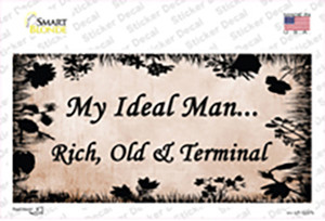 Rich Old And Terminal Wholesale Novelty Sticker Decal