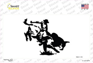 Bull Rider Wholesale Novelty Sticker Decal