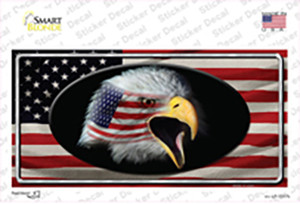 American Flag Eagle Wholesale Novelty Sticker Decal