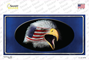 American Flag Eagle Blue Wholesale Novelty Sticker Decal