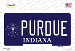 Purdue Indiana Wholesale Novelty Sticker Decal