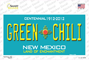 Green Chili New Mexico Wholesale Novelty Sticker Decal