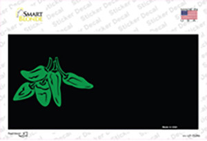 Green Chili Offset Wholesale Novelty Sticker Decal