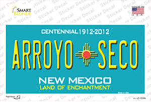 Arroyo Seco New Mexico Wholesale Novelty Sticker Decal