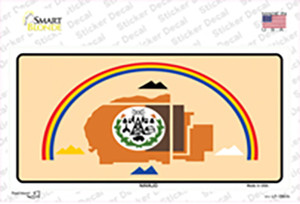 Navajo Flag Wholesale Novelty Sticker Decal