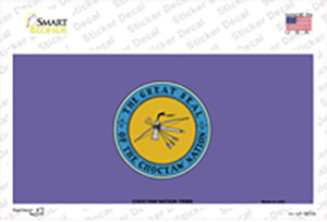Choctaw Nation Flag Wholesale Novelty Sticker Decal
