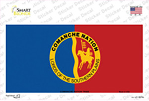 Comanche Nation Flag Wholesale Novelty Sticker Decal