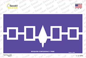 Iroquois Confederacy Flag Wholesale Novelty Sticker Decal