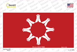 Oglala Sioux Tribe Flag Wholesale Novelty Sticker Decal