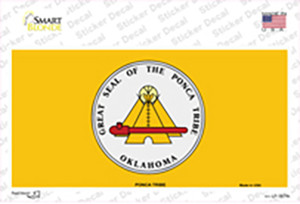 Ponca Tribe Flag Wholesale Novelty Sticker Decal