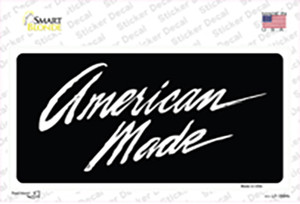 American Made Wholesale Novelty Sticker Decal