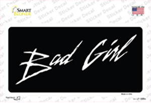 Bad Girl Wholesale Novelty Sticker Decal