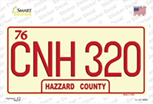 CNH 320 Wholesale Novelty Sticker Decal