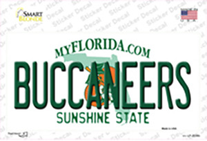 Buccaneers Florida State Wholesale Novelty Sticker Decal