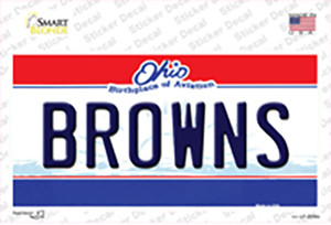 Browns Ohio State Novelty Wholesale Novelty Sticker Decal