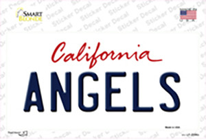 Angels California State Wholesale Novelty Sticker Decal
