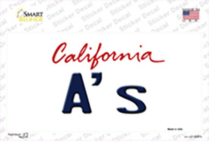 As California State Wholesale Novelty Sticker Decal