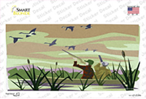 Duck Hunting Camouflage Wholesale Novelty Sticker Decal