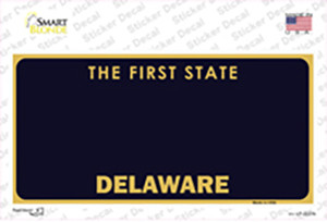 Delaware State Blank Wholesale Novelty Sticker Decal