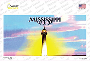 Mississippi State Blank Wholesale Novelty Sticker Decal