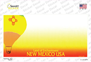 New Mexico State Blank Wholesale Novelty Sticker Decal