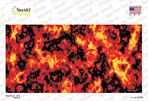 Fire Explosion Wholesale Novelty Sticker Decal