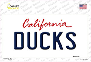 Ducks California State Wholesale Novelty Sticker Decal