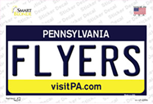 Flyers Pennsylvania State Wholesale Novelty Sticker Decal