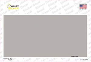 Gray Solid Wholesale Novelty Sticker Decal
