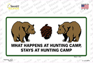 What Happens At Camp Wholesale Novelty Sticker Decal