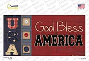 God Bless America Quilt Wholesale Novelty Sticker Decal