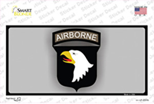 Airborne Eagle Wholesale Novelty Sticker Decal