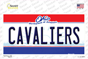 Cavaliers Ohio State Wholesale Novelty Sticker Decal
