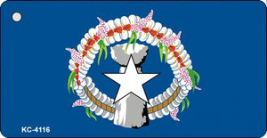 Northern Marianas Flag Wholesale Novelty Key Chain