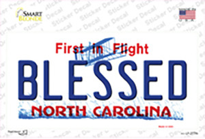 Blessed North Carolina Wholesale Novelty Sticker Decal