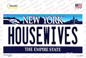 Housewives New York Wholesale Novelty Sticker Decal