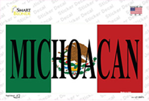 Michoacan Mexico Background Wholesale Novelty Sticker Decal