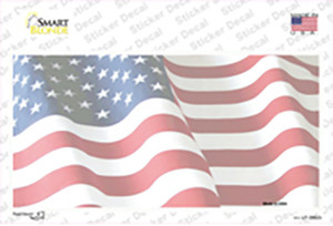 Faded Old Glory Wholesale Novelty Sticker Decal