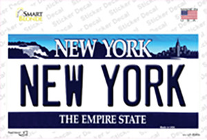 New York State Wholesale Novelty Sticker Decal
