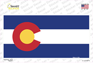 Colorado State Flag Wholesale Novelty Sticker Decal