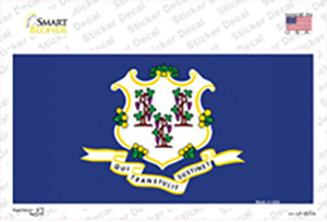 Connecticut State Flag Wholesale Novelty Sticker Decal