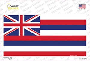 Hawaii Flag State Flag Wholesale Novelty Sticker Decal