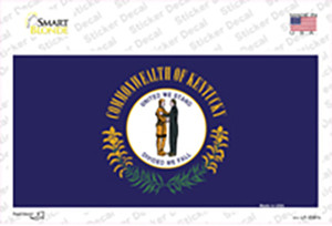 Kentucky State Flag Wholesale Novelty Sticker Decal